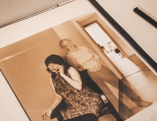 Die mystischen Fotos von Rita Ostrovska lassen viele Besucher erstaunt